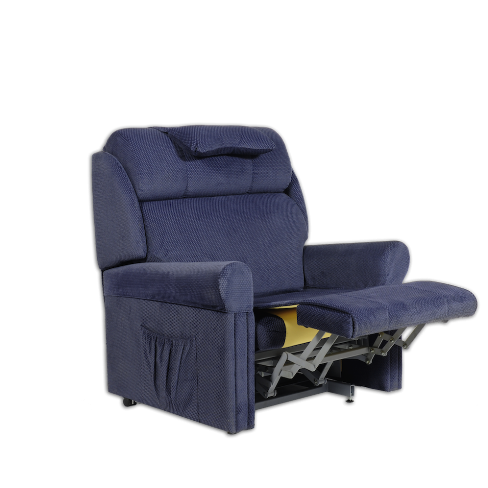 Ambassador recliner chair with leg elevation