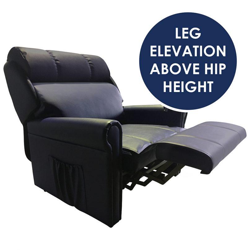 Bariatric leg elevation